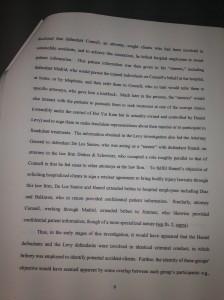 4-16-13 *** Pg9 Pg 9 Judge Barrett's Decision In Hamel's Case Barrett asserts Fraudulent cases were given to Oterh Lawyers at Dinkes & Schwitzer D&S IMG_1059