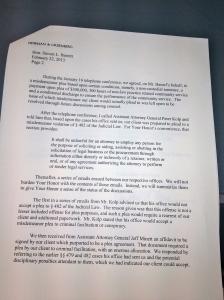 4-23-13 Gustave Newman's Letter Pg2 Pg 2 Better Better RE Hamel's Plea Bargain  IMG_1039 - Version 2