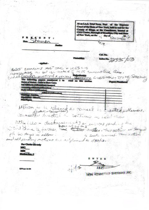 This is the public version  of Sherman's  Illegal Court Order. that he loudly announced in open court. on record . Sherman made sure to give the Petitioner a copy before leaving. This is an illegal Order  as the pro se Petitioner said on many occasions that  the case was going to be prosecuted  pro se which is the right of any petitioner and a judge can't devise an order  demanding a Petitioner be represented by legal counsel. Of course Roy Bean showing his illegal bent blatantly demonstrates where his allegiance lies and that is with lawlessness  coming down with this  illegal decision to wasting the time and money of the Petitioner, and taxpayers,  in an effort to strike points with the Defendants. This is a prime example of abuse of power and obstruction of justice. Roy Bean there is no excuse. --but wait there's more.....Photo courtesy of world-News-Media.com