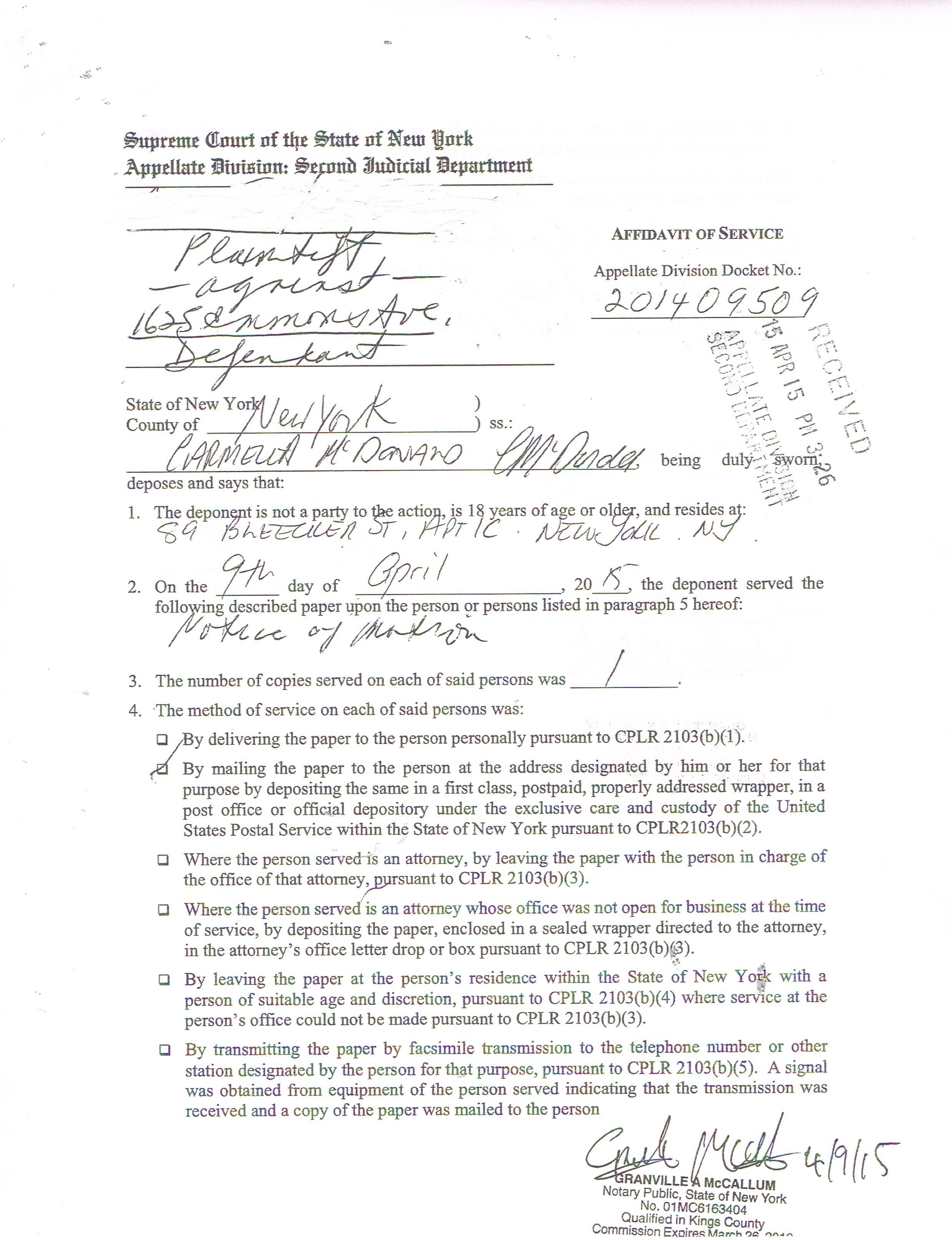 address affidavit form – Affidavit Template Doc